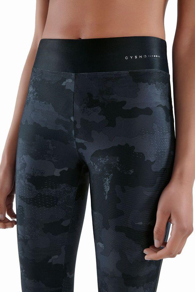 Legging camuflaje tobillero - OYSHO