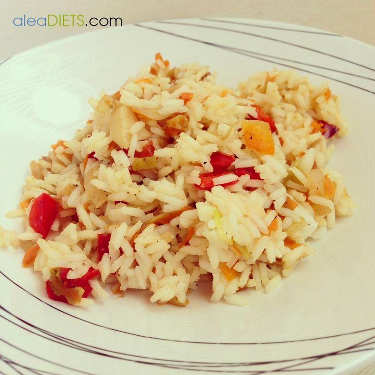 Arroz con cinco especias chinas - La dieta ALEA - blog de nutrición y dietética, trucos para adelgazar, recetas para adelgazar