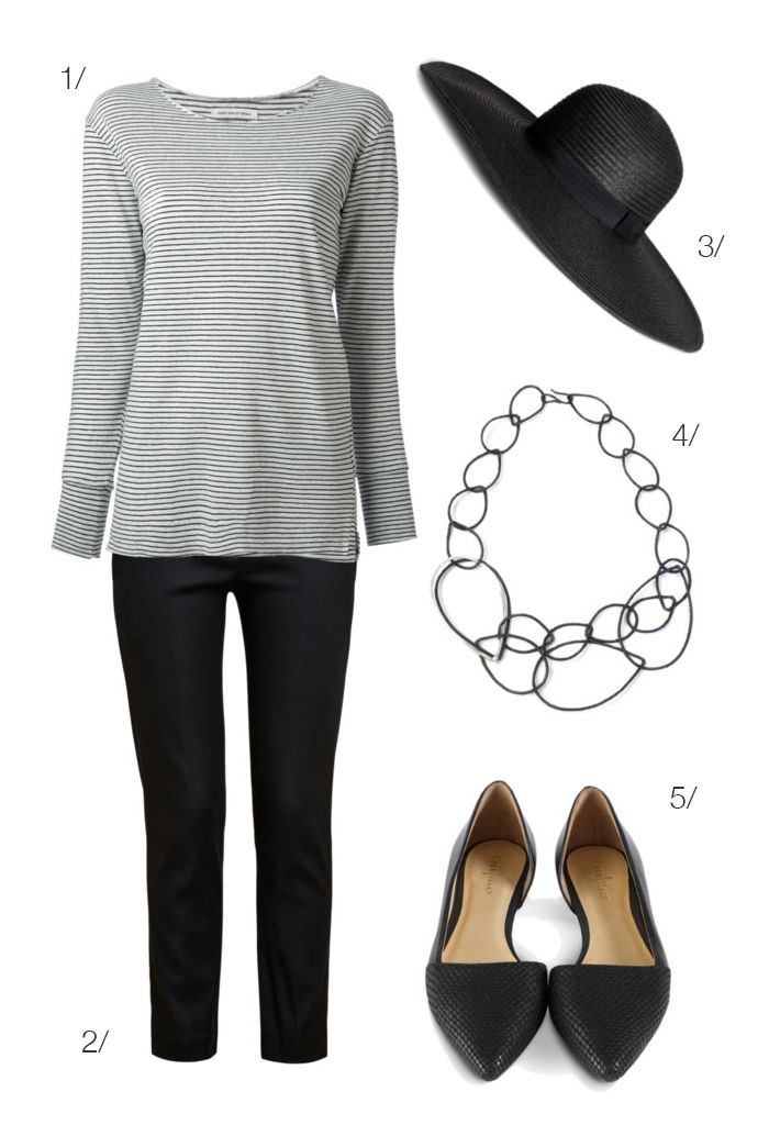 inspired by Audrey: classic casual style // click for outfit details