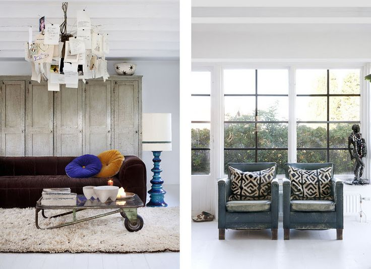 Vintage and Ethnic interior by designer Marie Olsson