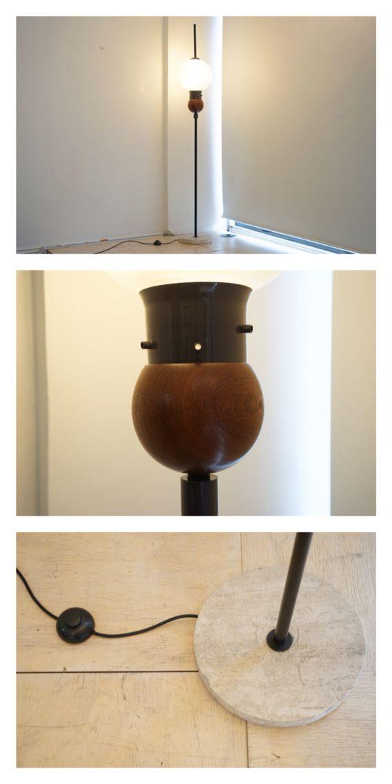 Italian Floor lamp in the style of Luigi Caccia Dominioni, c.1950.