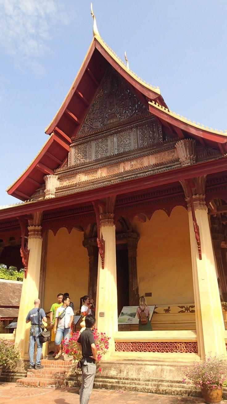 ビエンチャンで最も古い寺院。ラオス 旅行・観光の見所!