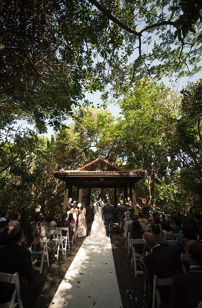 Wedding at Zimbali Country Club in tropical forest setting  www.zimbali.com