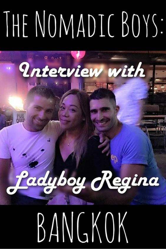 Interview with ladyboy Regina in Bangkok