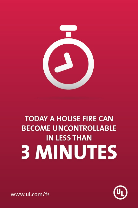 Fueled by synthetic materials, modern residential fires leave less time for occupants to escape safely.