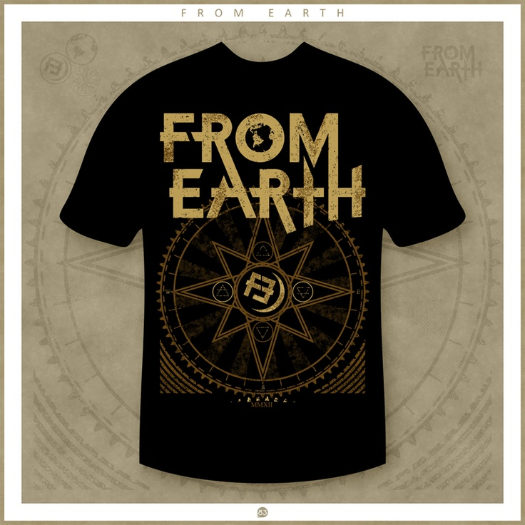 From Earth t-shirt design | by POINTT83