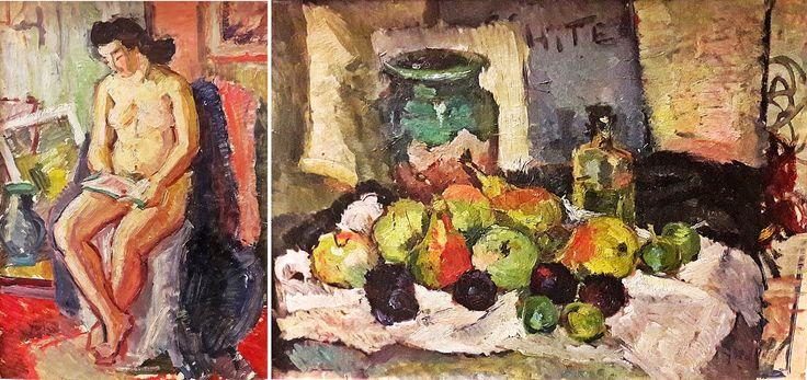 Petre Iorgulescu Yor (1890-1939) - Nud în interior