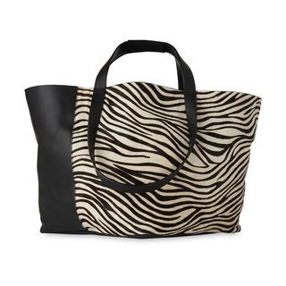 Java Zebra Pony Tote, in Black and White on Whistles