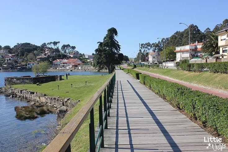 Ruta en bici con niños: Ramallosa-Baiona - Little Vigo Sidewalk, Playgrounds, Walks, Paths, Deporte, Pretty, Beach, Side Walkway, Walkway