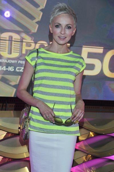 Ania Wyszkoni wystąpi podczas SuperJedynek (fot. Jan Bogacz/TVP)