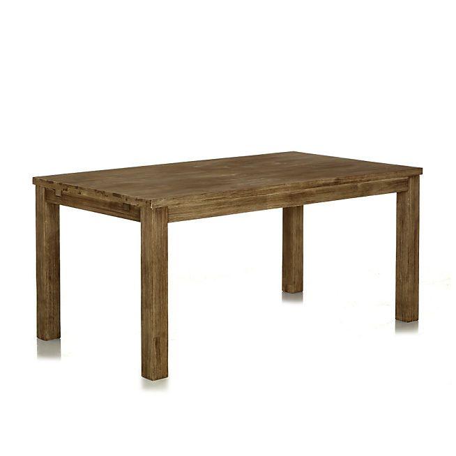 Toundra Table de repas rectangulaire avec allonges