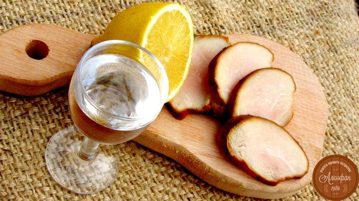 рецепт лимонной водки