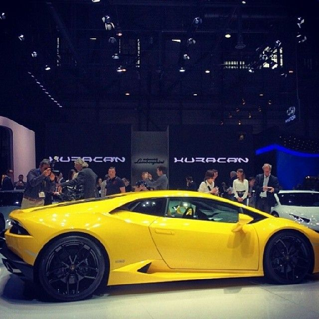 Huracan par Lamborghini #genevamotorshow #salondelauto 2014 #lamborghini #huracan