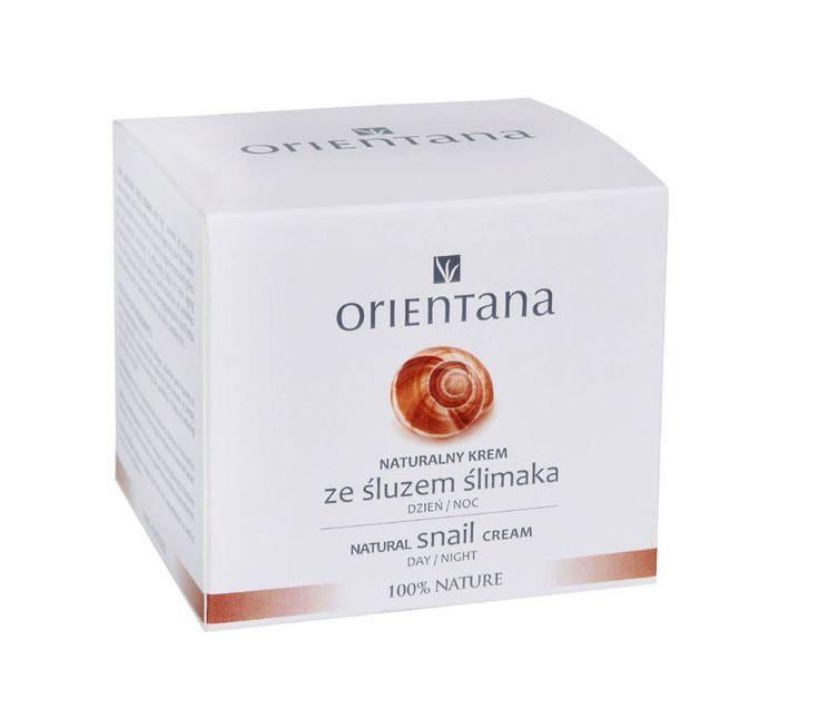 Orientana - Naturalny krem ze śluzem ślimaka 50ml