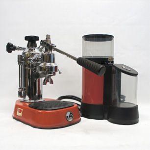 """The Coffee Machine  """"La Pavoni""""   """"Europiccola"""" Espresso Machine / """"Jolly Doser"""" Grinder"""