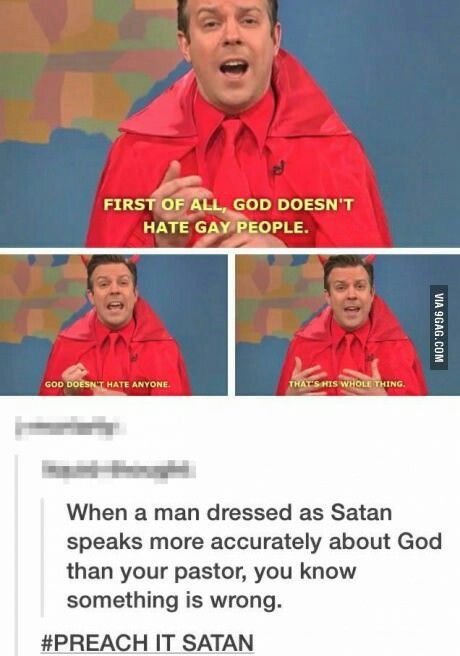 As a Catholic, this is exactly what I've been trying to say to everyone.