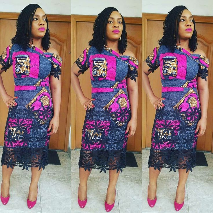 Top Ten Trendy Ankara Styles For Beautiful Ladies - Dabonke