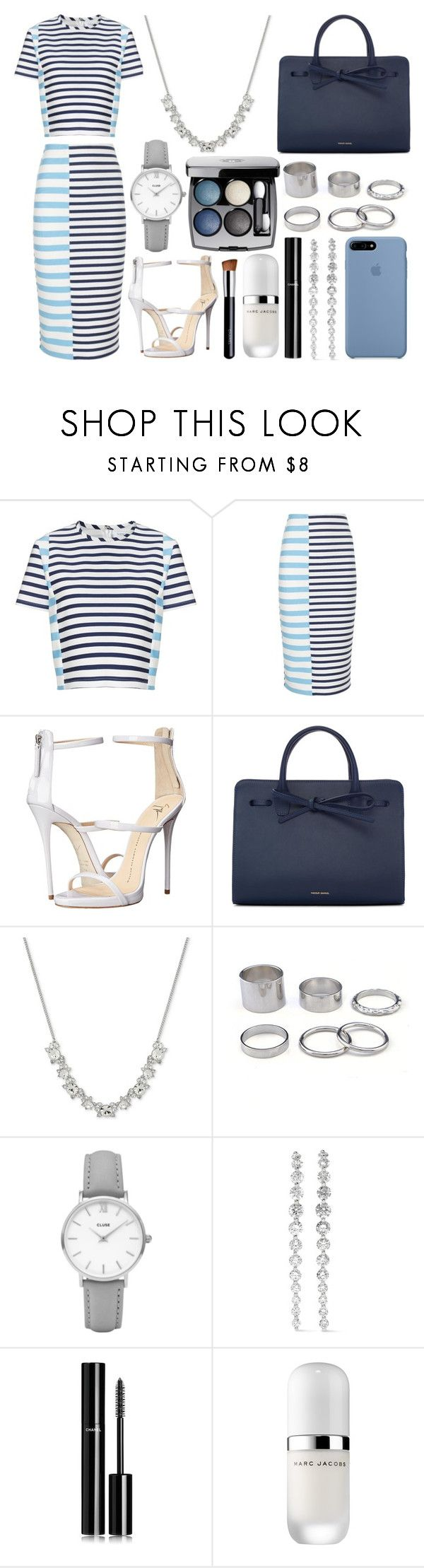 """375."" by plaraa on Polyvore featuring moda, Tanya Taylor, Giuseppe Zanotti, Mansur Gavriel, Givenchy, CLUSE, Anita Ko, Chanel y Marc Jacobs"