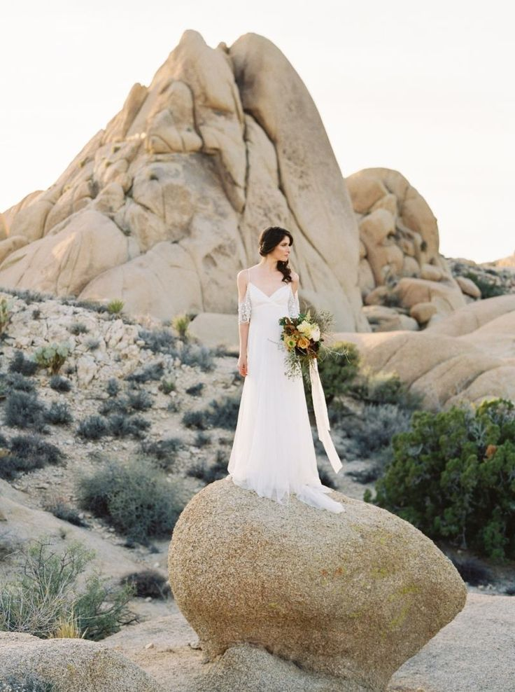 Stunning Desert Wedding Ideas at Joshua Tree via Magnolia Rouge