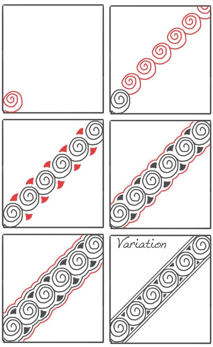 670 Best Art Zentangle S Images On Pinterest Zentangle