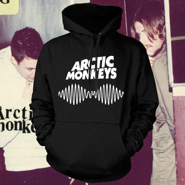 Арктический обезьяны Am логотип Soundwave с капюшоном музыка рок-группа панк пуловер с капюшоном толстовка гуд кофта топ