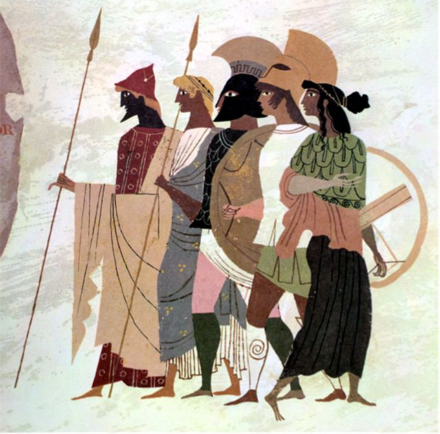 an analysis of hektors heroism in the iliad by homer Detailed analysis of characters in homer's the iliad learn all about how the characters in the iliad such as achilles and hector contribute to the story and how they fit into the plot.