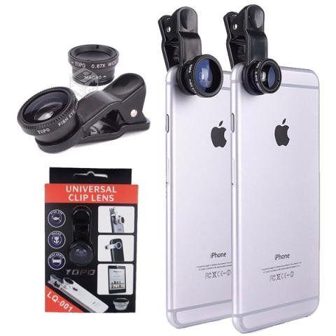 Lente Ojo De Pez 3 En 1 Universal Iphone Samsung, PRODUCTOS NUEVOS SE ENVIA A TODO CHILE Whatsapp +569 9-7759634 VALOR $7.000