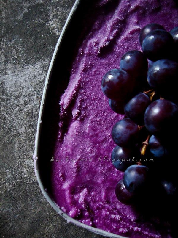 Concord Grapes Ice Cream