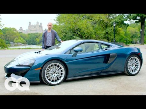"""How Many Groceries Can You Pack Into a $200K McLaren Supercar?   GQ - WATCH VIDEO HERE -> http://bestcar.solutions/how-many-groceries-can-you-pack-into-a-200k-mclaren-supercar-gq     Jon Wilde and Hasan Minhaj of The Daily Show are running the new McLaren 570GT sports car. At a base price of $ 198,950, it features a dual turbocharged V8 engine that removes 562 horsepower. They follow us the features of """"The Family McLaren"""" – and test their luggage with a..."""