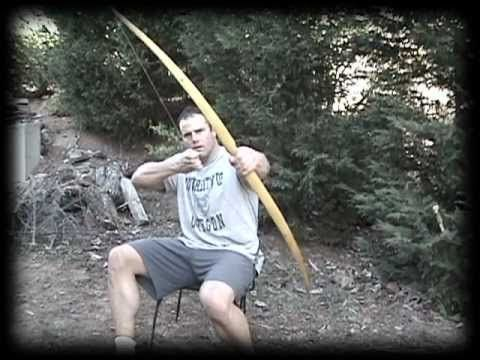 Making a Primitive Bow, Part 4 - YouTube