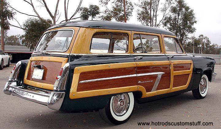 1952 Mercury Woodie Station Wagon 14