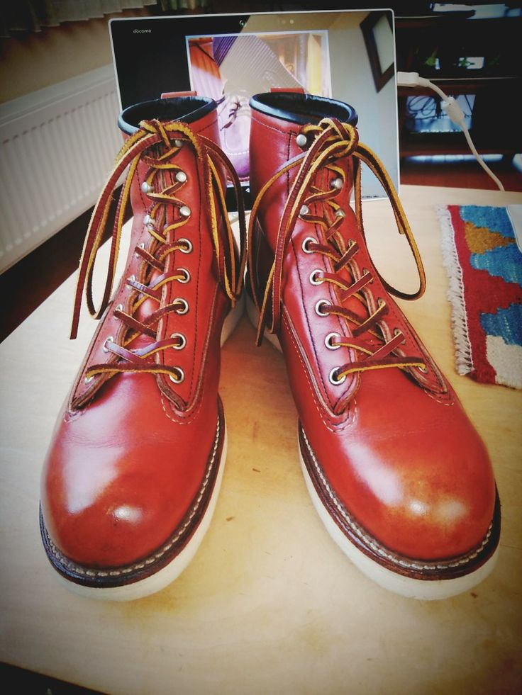 Red Wing 2907 lineman  (2010/10/28 after maintenance)