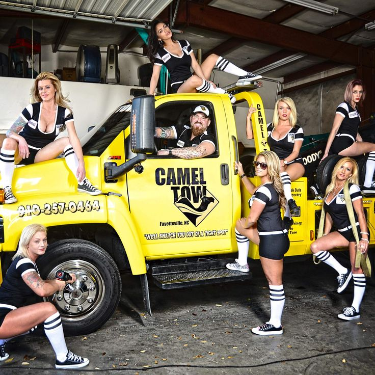 Check Out Camel Tow, the Sexiest Towing Company in America