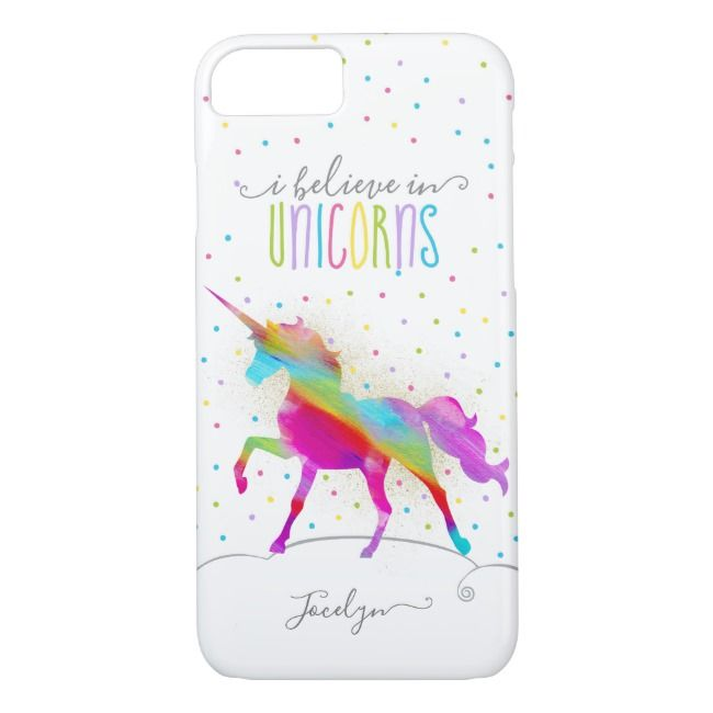 Pink Glitter and Gold Unicorn Case-Mate