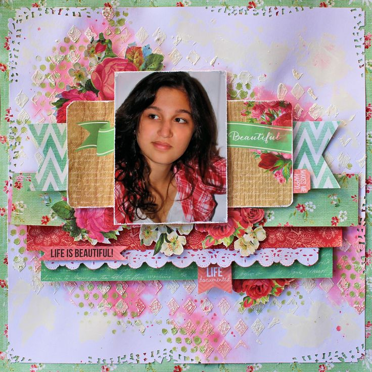 Life is Beautiful - Kaisercraft Tropical Punch Collection.  http://cathycafun.blogspot.com.au/2014/10/kaisercraft-tropical-punch-collection.html  http://www.kaisercraft.com.au/blog/