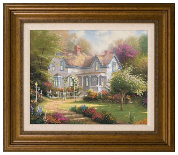 Home is Where the Heart Is II - 22 x 26 Textured Print by Thomas Kinkade