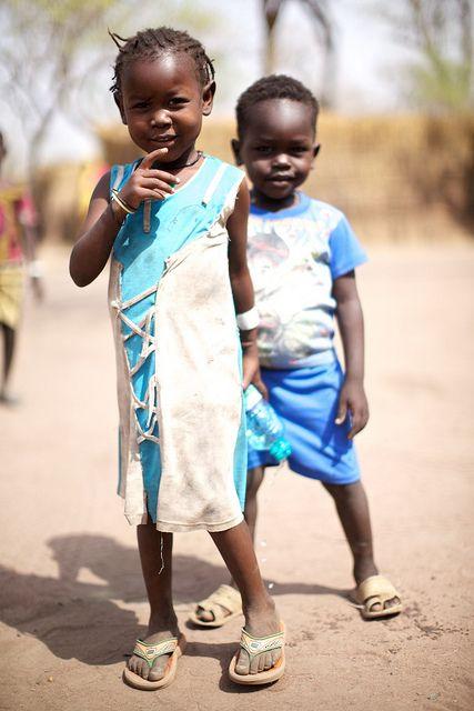 Refugee children in South Sudan