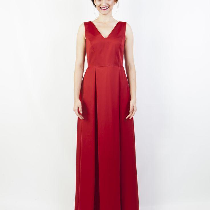 Artbe - Společenské šaty Divine Red