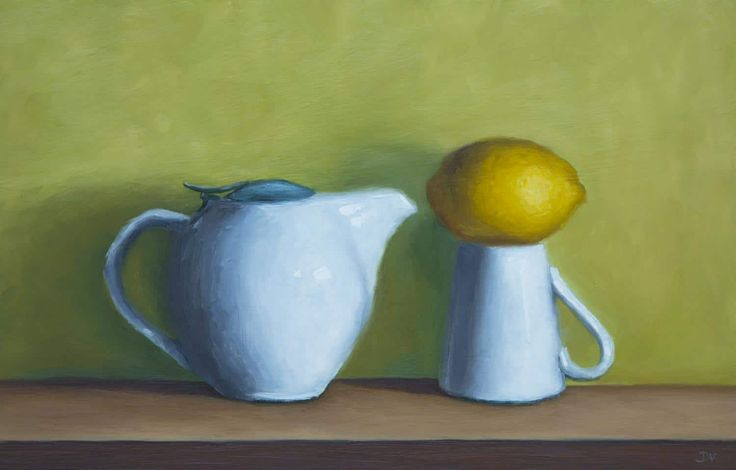 View Still life with tea pot and lemon by Damien Venditti. Browse more art for sale at great prices. New art added daily. Buy original art direct from international artists. Shop now