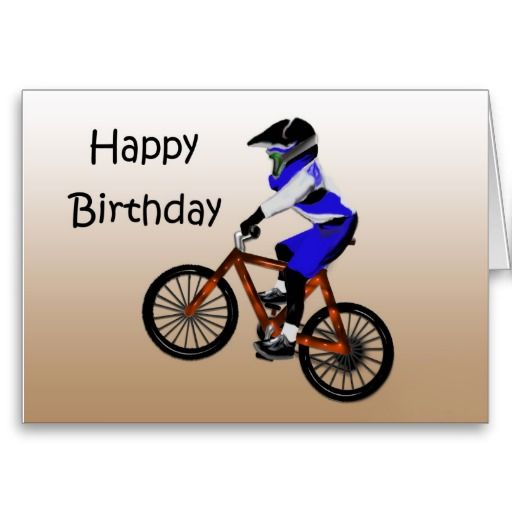 17 Best images about anything – Motocross Birthday Cards
