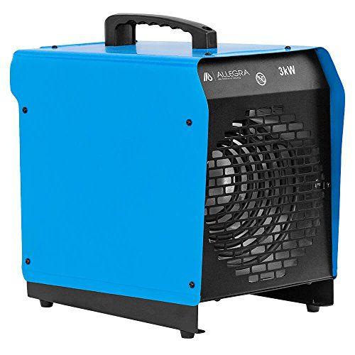 3 KW Elektroheizer Heizlüfter Heizgerät Bauheizer Zeltheizung – ALLEGRA – H31