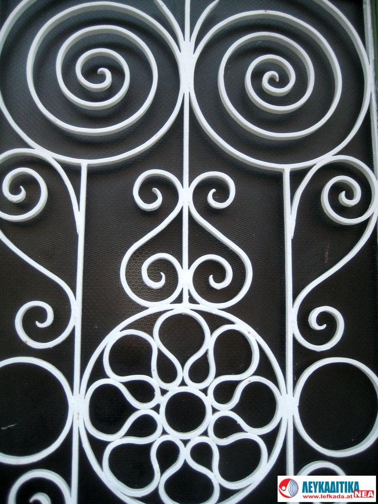 Διακοσμητικό κάγκελο πόρτας Νο 3.