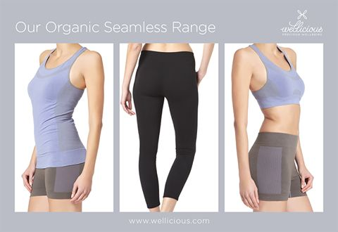 Are you looking for Organic activewear that doesn't compromise style over functionality? Then look no further, because we have launched our beautiful Organic Cotton Seamless range.  Supportive yet stylish it will become your perfect partner for the gym or yoga class!    Shop our Adore Bra & Adore Top, plus Adore Shorts & Leggings now:  www.wellicious.com/adore-bra.html www.wellicious.com/adore-top.html www.wellicious.com/adore-shorts.html www.wellicious.com/adore-leggings.html