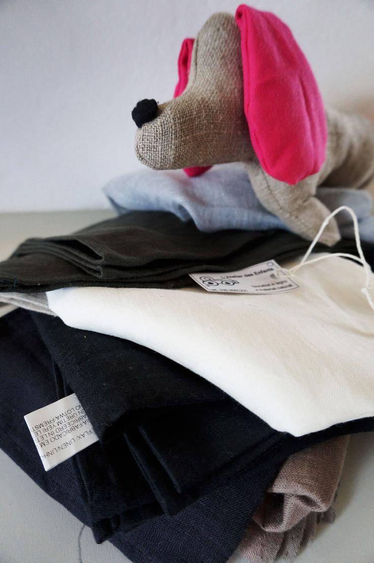 pupazzo cane bassotto in lino e cotone