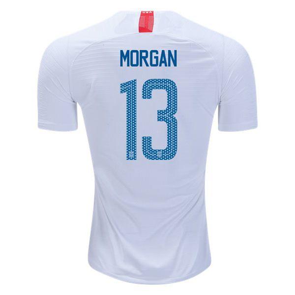 newest 9656c 8ee54 18/19 Alex Morgan Jersey Home Replica Men's USA National ...