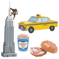 A Smidge of New York Postcards - To make into NY icons | Paper Products Online