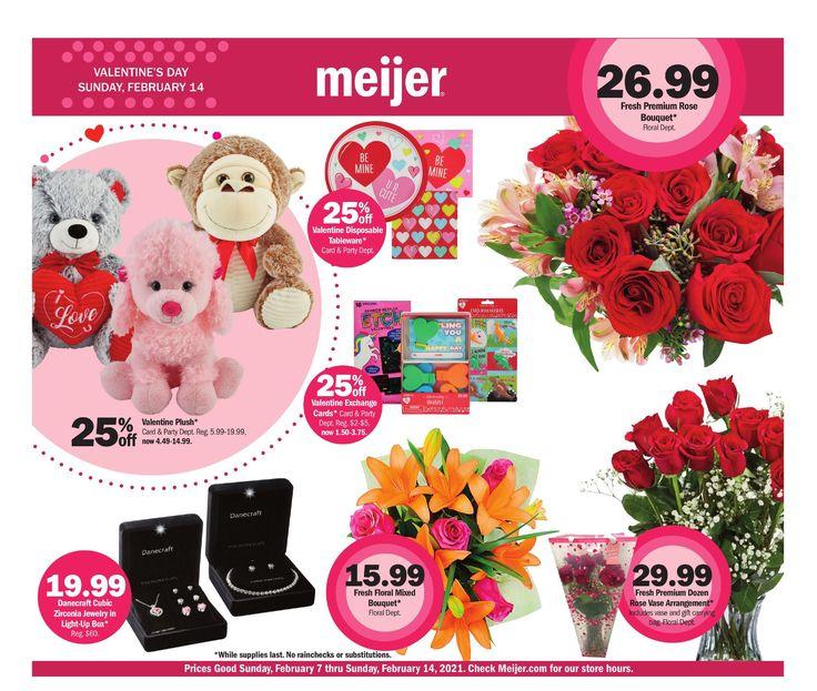 Meijer valentines day february 7 february 14 2021 in