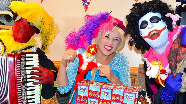 Sinterklaas Zwarte Piet Liedjes Spiderman Frozen Elsa Sinterklaas bij de...