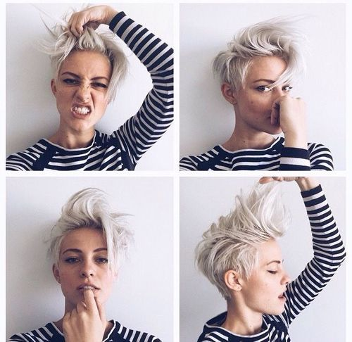 Short Hair Beauty | Beautiful Short Hairstyles | Pinterest