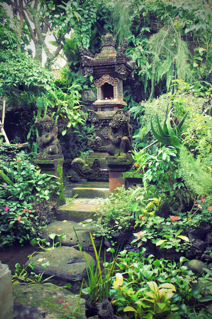 Bali style; Indonesia.The spiritual site identified as a chunk of the surrounding mould ones innerself to absorb the essence of natural elements.